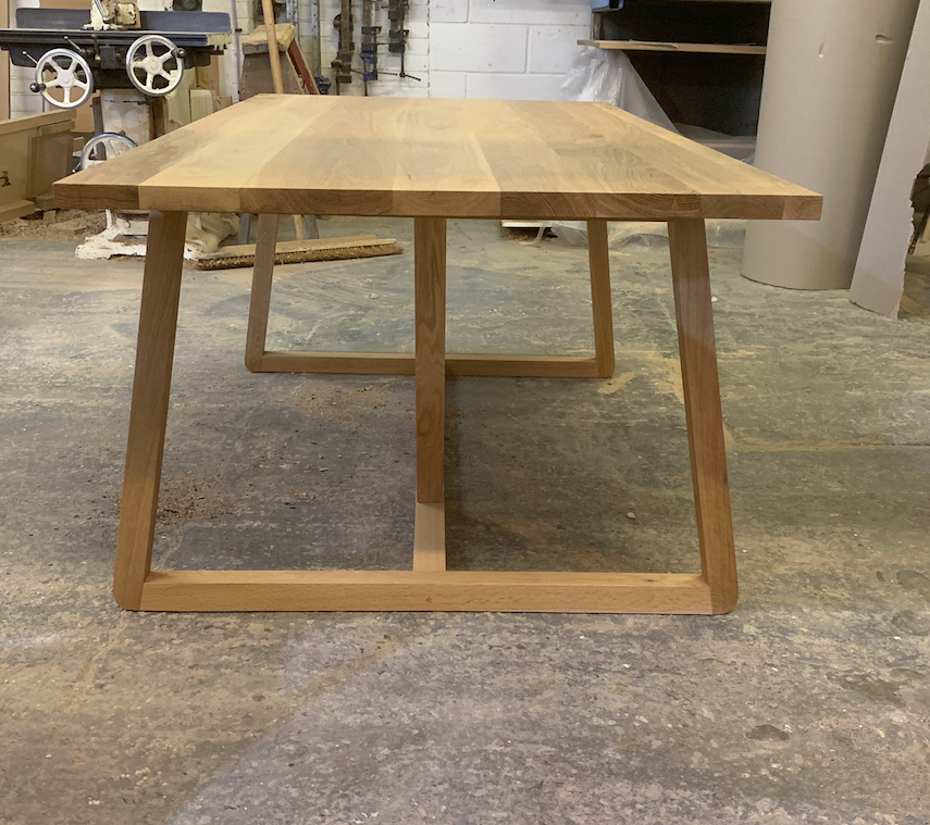 Oak Bespoke table
