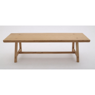 Rustic Style Bench - Shown in Oak