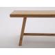 Rustic Style Bench - Shown in Oak