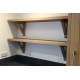 Oak Shelf with 'A' Brackets