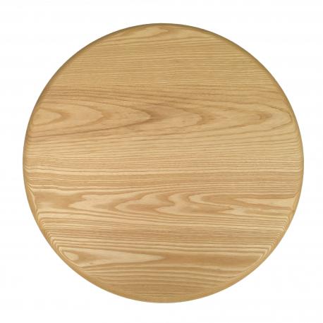 Ash Round Top/ Matt Lacquer/ Bullnose edge